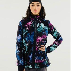 Lululemon 6 Run Bandit Floral Petal POP Jacket